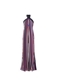 Multi colored Vertical Striped Jumpsuit