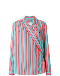Maison Margiela Striped Long Sleeve Shirt