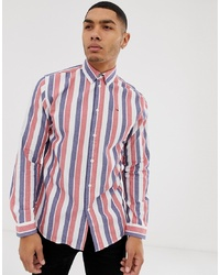 Tommy Hilfiger S Retro Twill Stripe Shirt