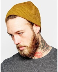 Fisherman beanie in mustard medium 6721337
