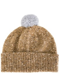Paul Smith Pom Pom Speckled Beanie