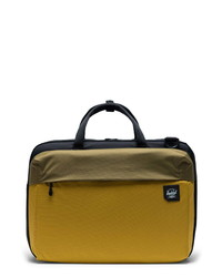 Mustard Canvas Briefcase