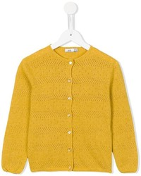 Knot Stitch Pointelle Cardigan
