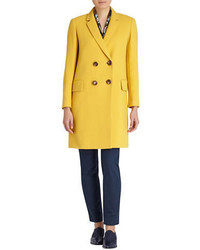 Lafayette 148 New York Culture Crepe Gianna Coat
