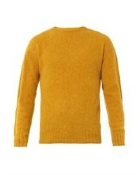 Ridge crew neck wool sweater medium 104974