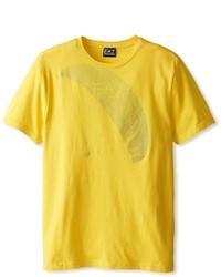Mustard Crew-neck T-shirt