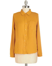 Mustard dress shirt original 4286915