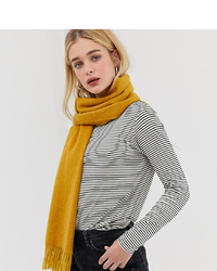 Accessorize Ochre Yellow Blanket Scarf