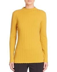 Mustard Knit Turtleneck