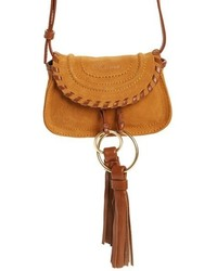Nano polly leather crossbody bag yellow medium 1249008