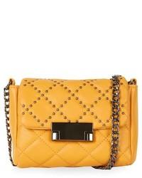Studded faux leather crossbody bag medium 261497