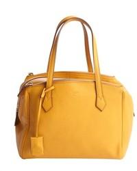 Mustard Leather Handbag