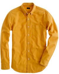 Slim vintage oxford shirt in tonal cotton medium 13154