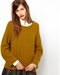 Mustard Oversized Sweater