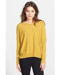 Ballet neck cashmere sweater medium 113851