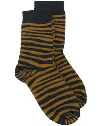 Tiger printed socks medium 4977887