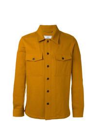 Mustard Shirt Jacket