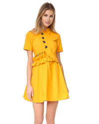 Mustard Shirtdress