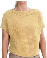 Mustard Short Sleeve Sweater