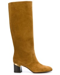Lanvin Mid Calf Boots