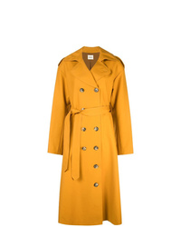 Khaite Double Breasted Trench Coat