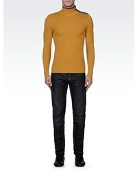 Mustard Wool Turtleneck