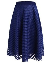 New Look A Line Skirt Navy
