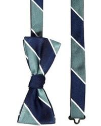 Jack jones page bow tie greennavy medium 92632