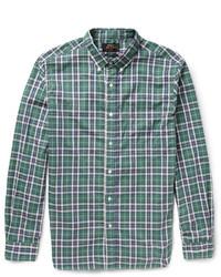 Beams Plus Plaid Cotton Shirt