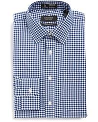 Nordstrom Shop Smartcare Tm Traditional Fit Gingham Dress Shirt