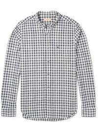 Burberry Brit Evans Gingham Cotton Shirt