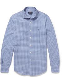 Polo Ralph Lauren Slim Fit Gingham Checked Cotton Shirt