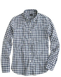 Slim secret wash shirt in faded gingham medium 389097