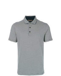 Michael Kors Collection Striped Polo Shirt