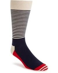 Happy Socks Stripe Colorblock Socks