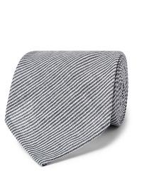 Rubinacci Striped Linen Tie