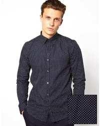Shirt with polka dot print medium 20472