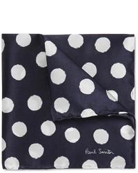 Paul Smith Polka Dot Silk Pocket Square
