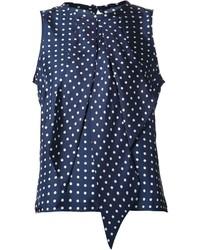Polka dot blouse medium 195367