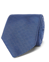 Hugo Boss 8cm Pin Dot Silk Tie