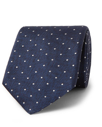 Hugo Boss 8cm Polka Dot Silk Twill Tie