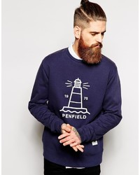 Sweatshirt with lighthouse print medium 308892