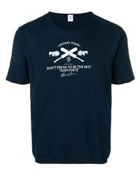 Eleventy Printed Crew Neck T Shirt