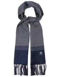 Pin dot print silk satin scarf medium 344519