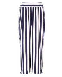 Cool Change Resort Wide Leg Stripe Trousers