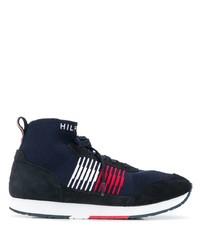 Tommy Hilfiger Stripe Sock High Top Sneakers