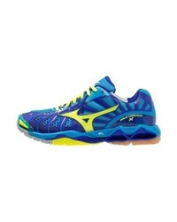 Mizuno Wave Tornado X Volleyball Shoes Diva Blueneon Yellowsurf The Web