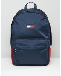 Tommy Hilfiger Flag Backpack In Navy