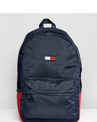 ... Free UK Shipping! Tommy Hilfiger Retro Logo Backpack In Navy At Asos d87416c88127a