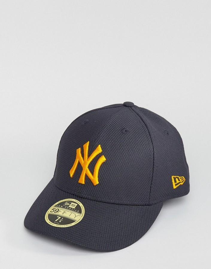 ... New Era 59fifty Fitted Cap Ny Yankees Diamond Era With Low Crown ... 59b7185cd3c
